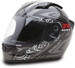 Helmet   XF708 Black  Custom Tribal Graphics Motorcycle Helmet jg