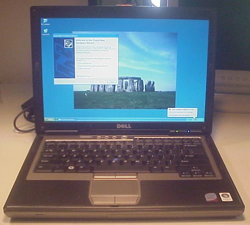DELL LATITUDE D630 CORE 2 DUO 2.50GHZ/2GB/60GBHD/DVD ROM/CD RW/WIFI