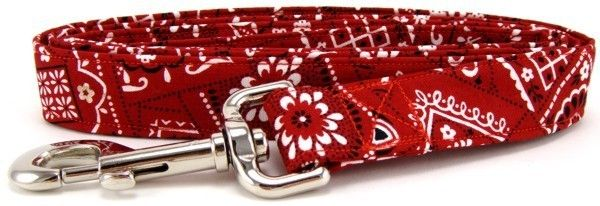Red Bandana Martingale Pet Dog Collar