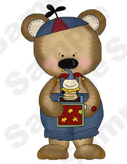 TEDDY BEARS TOYS BABY BOY NURSERY WALL STICKERS DECALS