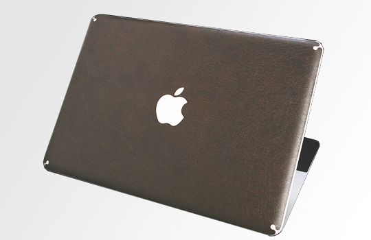 Apple MacBook Air Laptop Cover Skin   Brown Leather